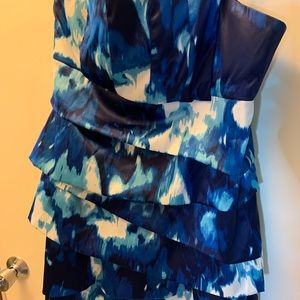 Shades of blue dress size 14